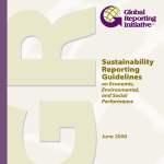 15 years GRI Guidelines for Sustainability Reporting!