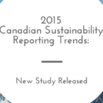 North American Sustainability Reporting Trends Released