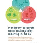 New book: 'Mandatory Corporate Social Responsibility Reporting in the EU'