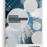 Closing the Sustainability-Investor Relations Gap