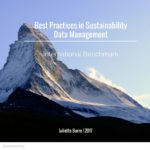 Best practices in sustainability data management 2017 report is out