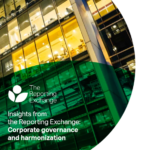 New report reveals opportunities for harmonization in sustainability and corporate governance reporting
