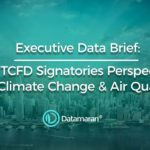 Financial Services are behind the global average on climate change disclosure