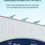 Private sector role in achieving progress towards UN climate change goals