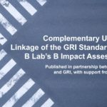 GRI and B Lab team up on impact management